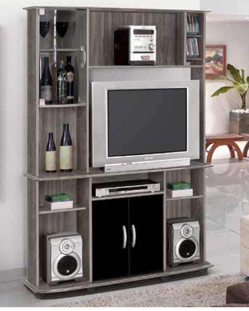 Mueble modular rack para tv lcd armado gratis for Mueble modular