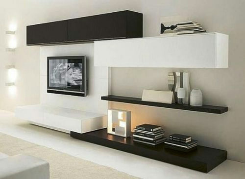 mueble modular rack  tv smart lcd hasta 50