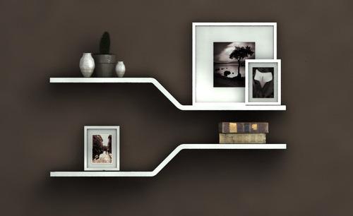 mueble modular, repisa o estante flotante sz. 35 c/u