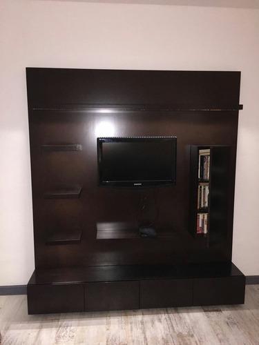 mueble modular y rack tv