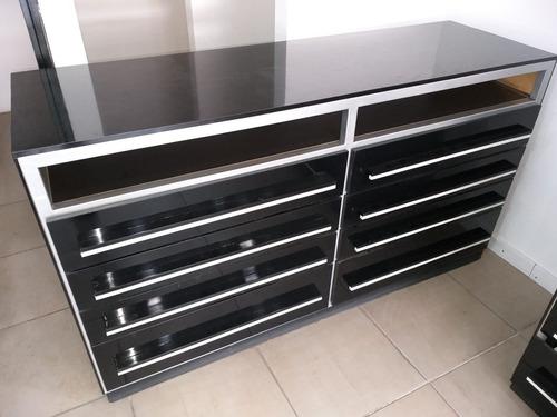 mueble mostrador con cajones