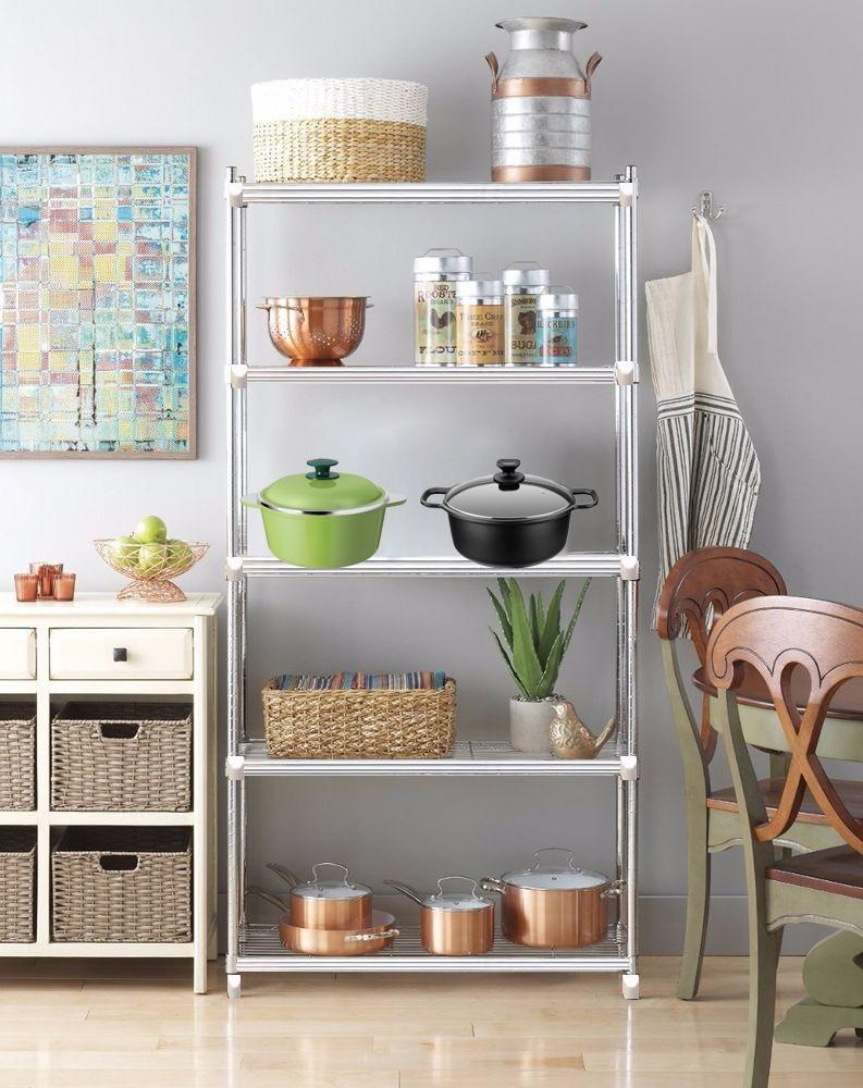 Estantes para cocina cool organizador de pie cromado estantes para cocina with estantes para - Estanterias para la cocina ...