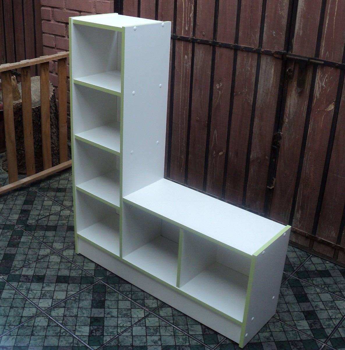 Mueble Multiuso En Melamina Blanca 105 X 90 X 25 26