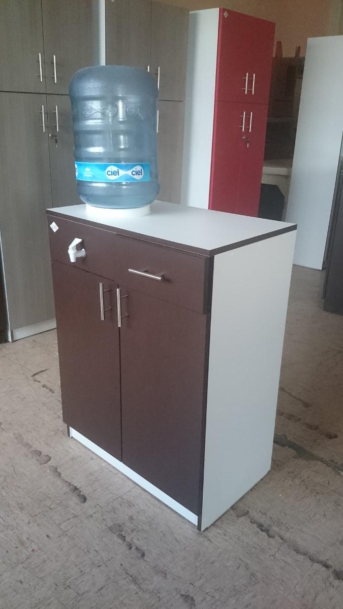 Mueble multiusos para garrafon estilo minimalista for Muebles auxiliares cocina para microondas