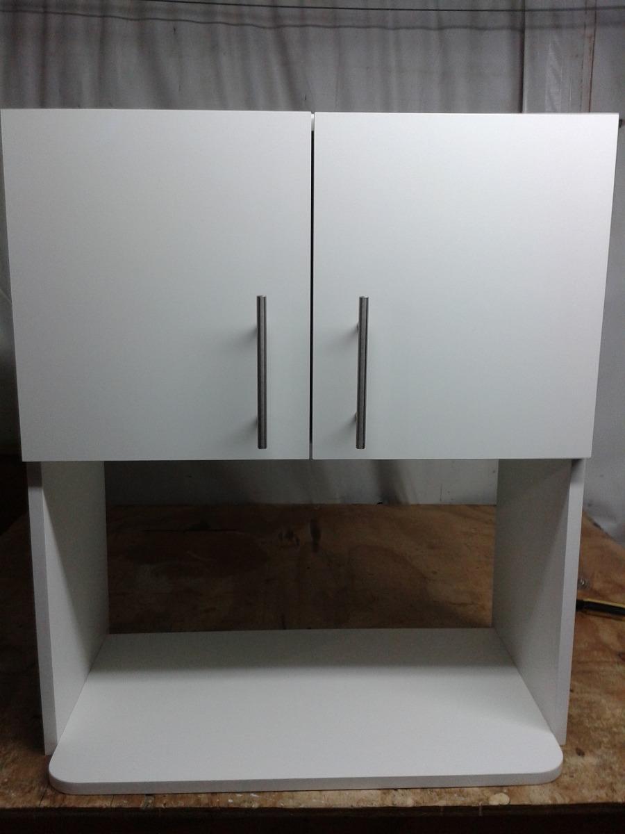Mueble mural 2 puertas para microondas en for Muebles para microondas ikea