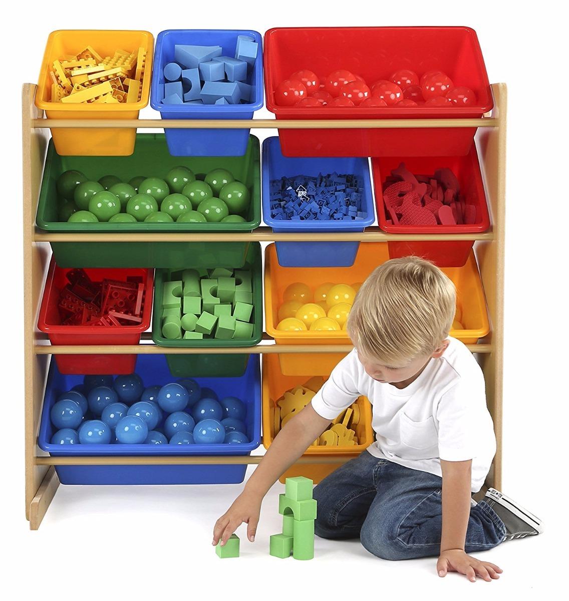 Mueble Ni Os Estante Organizador Juguetes Juguetero 1 499 00  # Muebles Juguetes Ninos