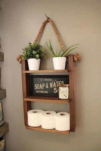 mueble organizador baño