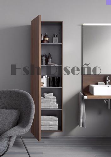mueble organizador baño diseño melamina 18mm moderno oferta