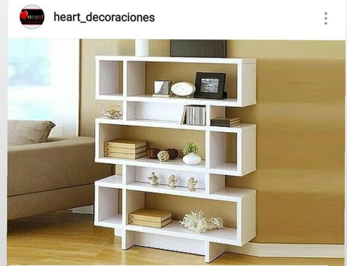 mueble organizador - biblioteca moderno modelo apu