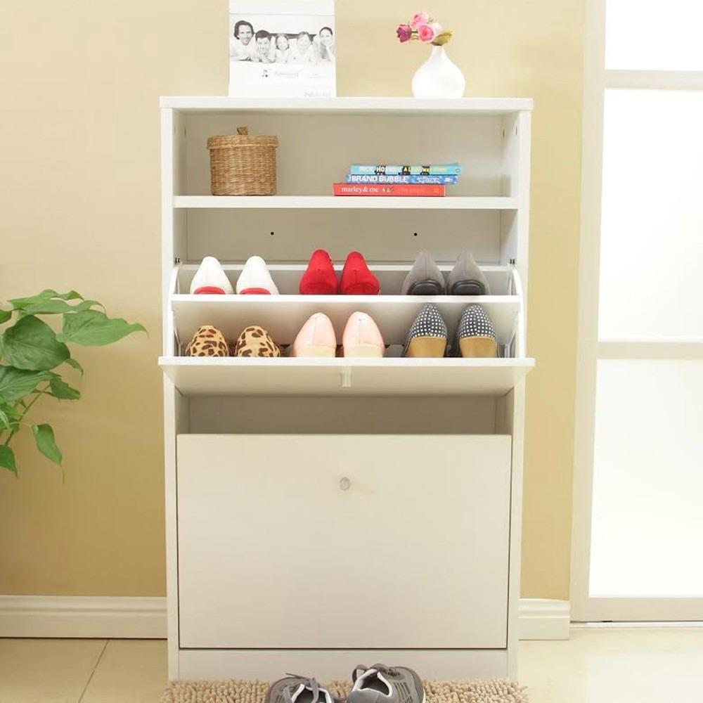 mueble organizador de zapatos blanco 4 niveles rebajas