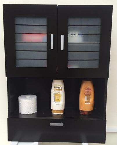 Muebles Para Baño Organizadores:Mueble De Madera Organizador Para Baño Chocolate – $ 1,84690 en