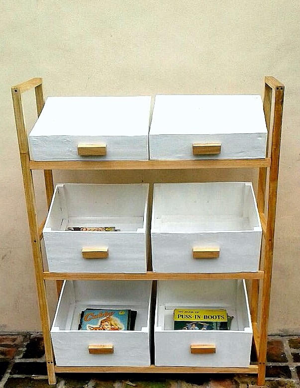 Mueble Organizador Para Cuarto De Niños Estilo Escandinavo - $ 3.000 ...