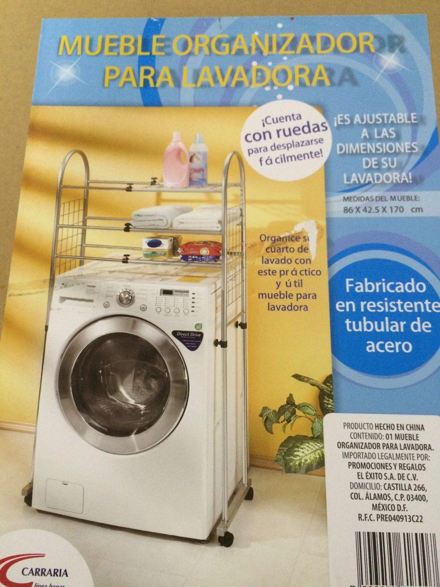 Mueble organizador para lavadora en mercado libre for Mueble para lavadora
