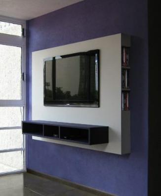 mueble panel lcd / tv / led - modular - mesa de tv