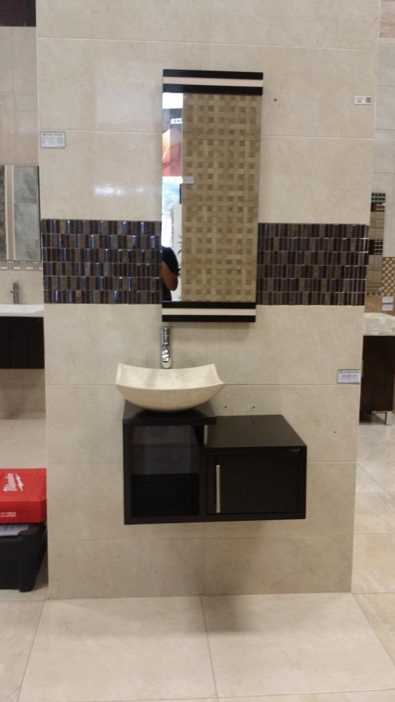 Mueble para ba o economico lavabo de marmol minimalista gina 4 en mercado libre - Lavabos para muebles de bano ...