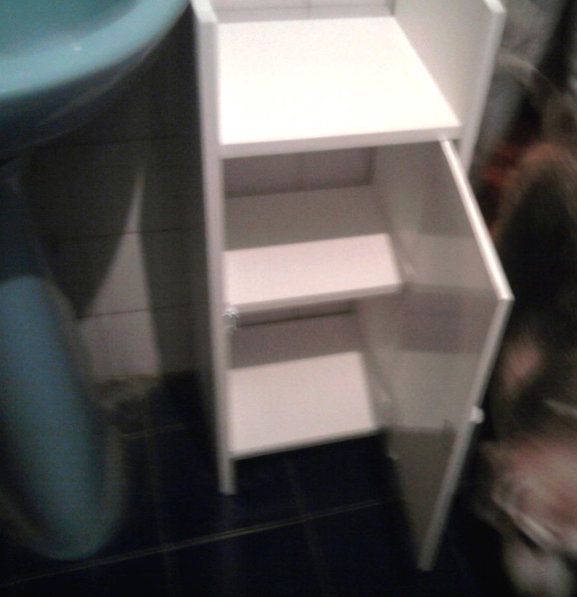 mueble para baño de madera, organizador de baño - $ 704,00 en ... - Muebles Para Bano En Madera