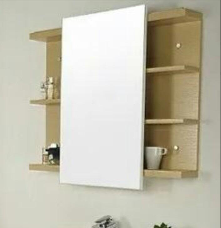 Mueble para ba o blanco negro wengue bs en for Muebles de bano negro