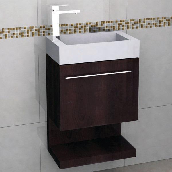 Mueble para ba o con espejo y lavabo castel coru a - Lavabos de marmol para bano ...