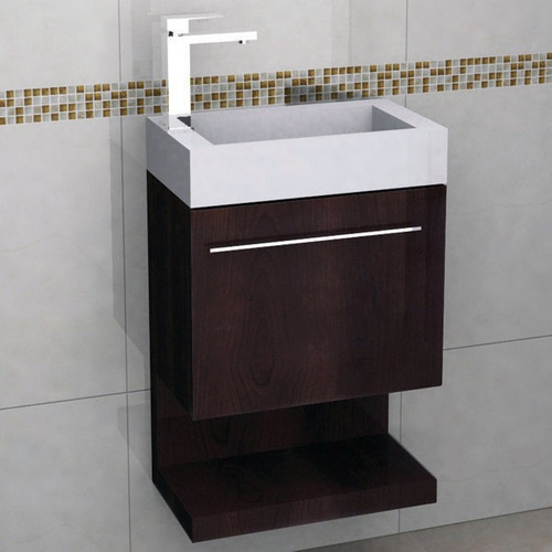 Mueble para ba o con espejo y lavabo castel coru a for Mueble espejo bano ikea