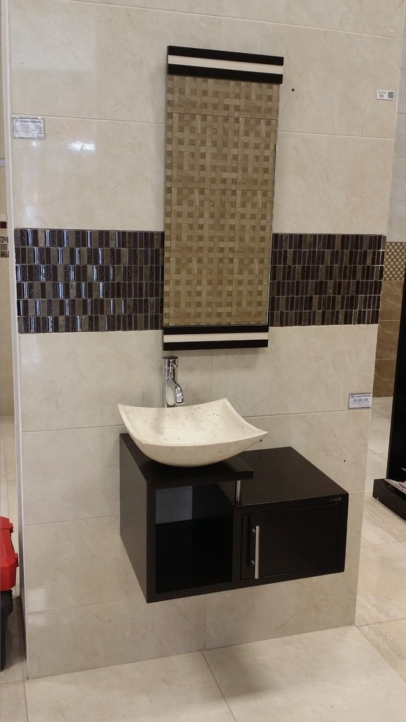 Mueble para ba o economico lavabo de marmol minimalista for Amueblar bano
