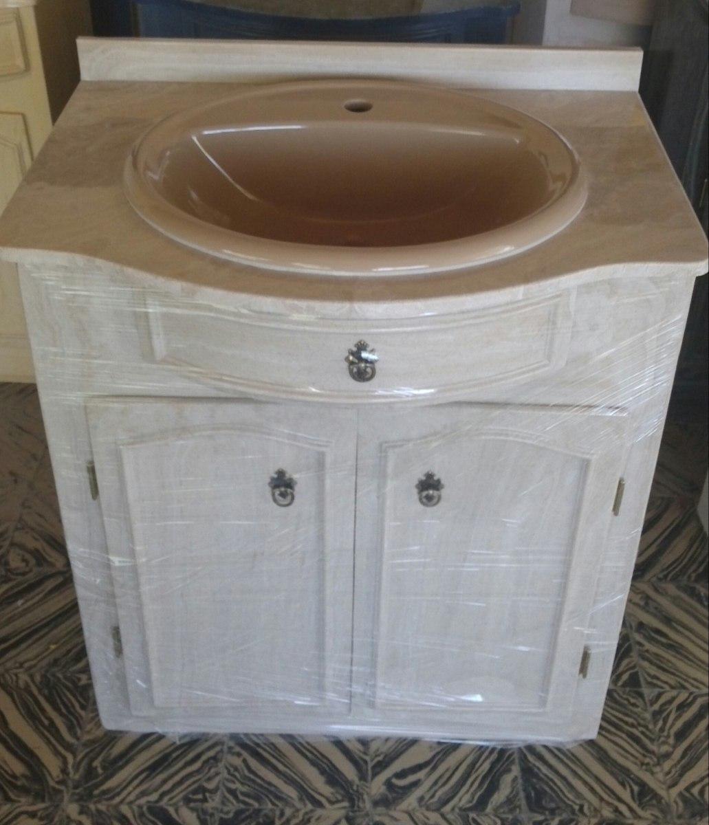 Mueble para ba o en marmol sintetico con mesada y bacha - Muebles de bano en cordoba ...