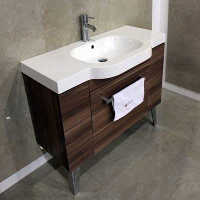 Mueble para ba o espejo lavabo sevilla 100 12 for Muebles bano para encastrar lavabo
