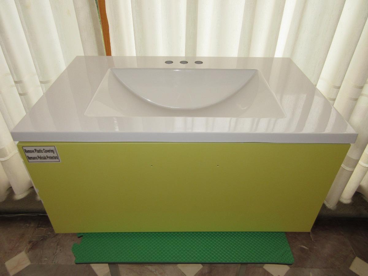 Mueble para ba o incluye gabinete lavabo botiqu n y for Mueble botiquin bano
