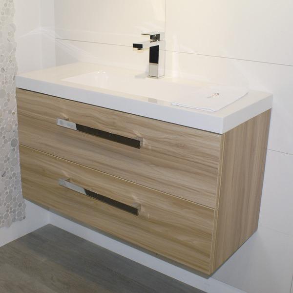 Mueble para ba o lugo 75 blanco ba o con lavabo y espejo for Mueble con espejo para bano