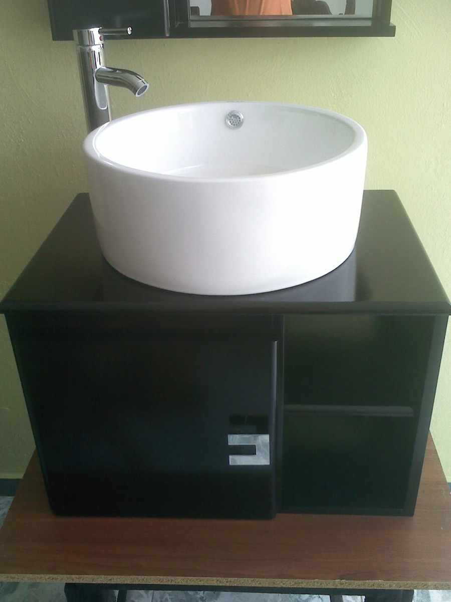 Muebles lavabo redondo 20170828023434 for Mueble lavamanos