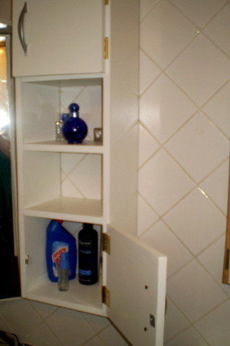 mueble para baño o sobre mochila rinconero