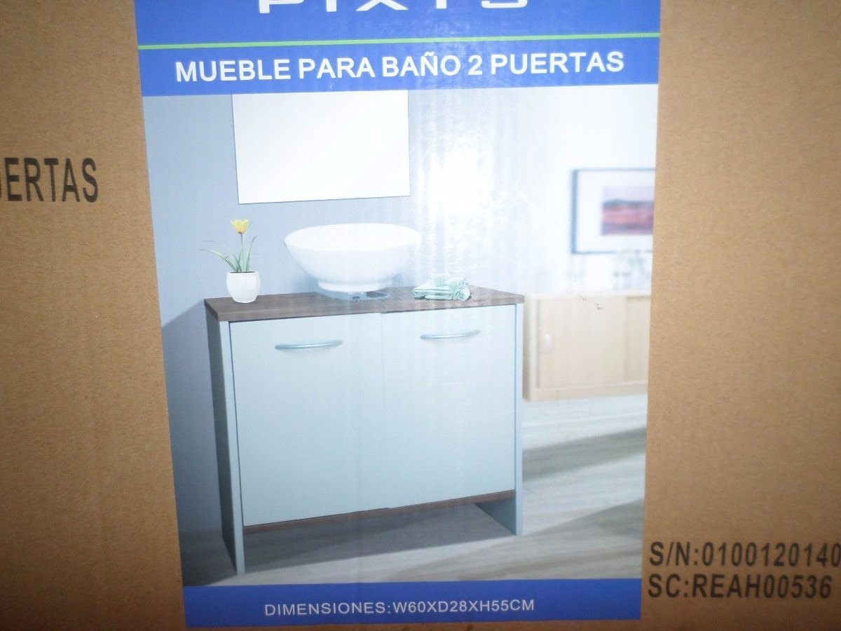 Mueble Para Ba O Pixys Dos Puertas Bs 24 999 00 En Mercado Libre # Muebles Tiendas Pixys
