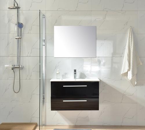 mueble para baño sa80 choco inc placa ceramica, esp y mono