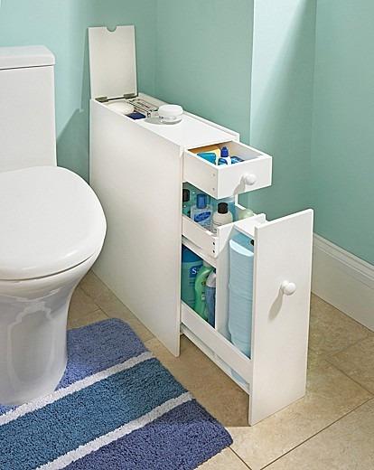Tolva Mueble Práctico Para Baños Chicos - $ 9.432,00 en Mercado Libre