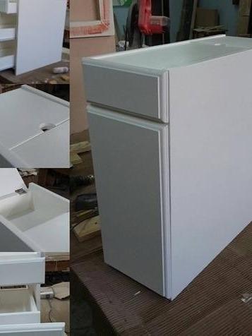 mueble para baños chicos -tolva