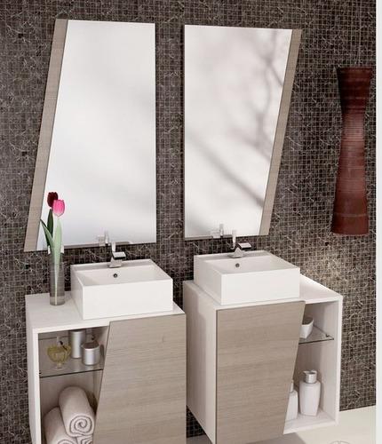 Mueble para ba os minimalista bs en mercado for Mueble bano minimalista