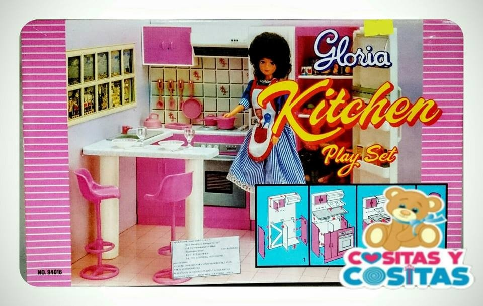 Mueble Para Casa De Muñecas Barbie Cocina Chica - $ 205.00 en ...