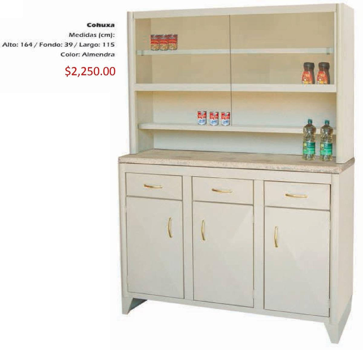 Mueble para cocina modelo cohuxa 2 en mercado libre for Muebles para cocina baratos