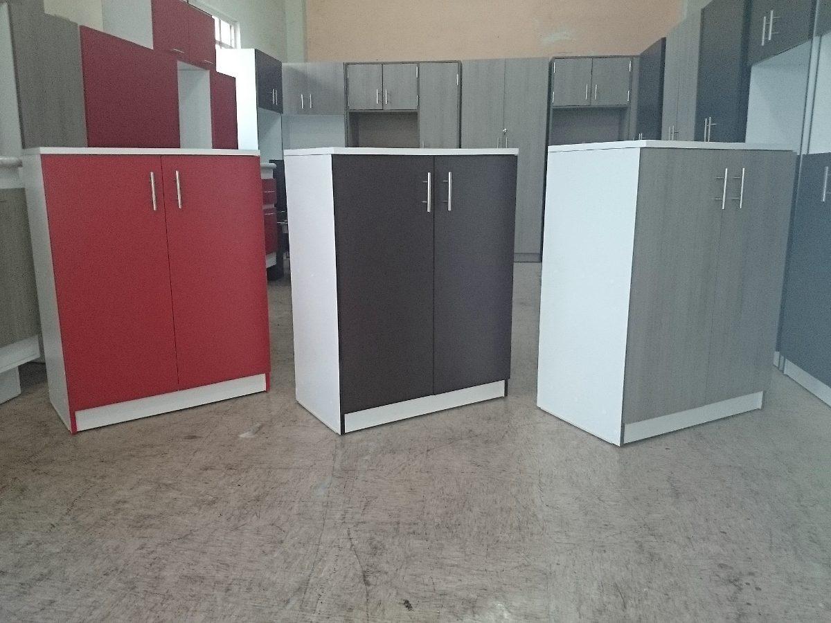 Mueble multiusos para cocina estilo minimalista 1 600 for Mueble pared cocina
