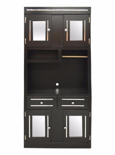 Mueble para cocina color chocolate modelo toallero Muebles de cocina xey modelo alpina