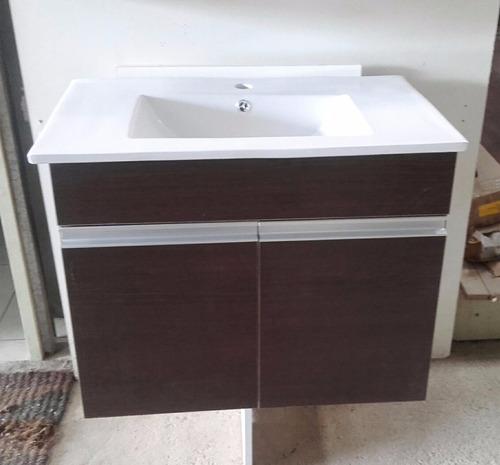 mueble para colgar con bacha de loza