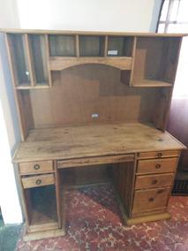 Muebles Para Computadora De Madera.Mueble Para Computadora De Madera Mod Rustico