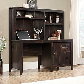 Muebles Para Computadora De Madera.Mueble Para Computadora De Madera Sauder Triple Cajon Cole