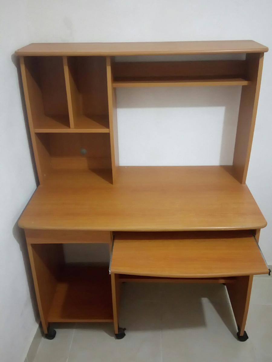 Muebles Para Computadora De Madera.Mueble Para Computadora Madera