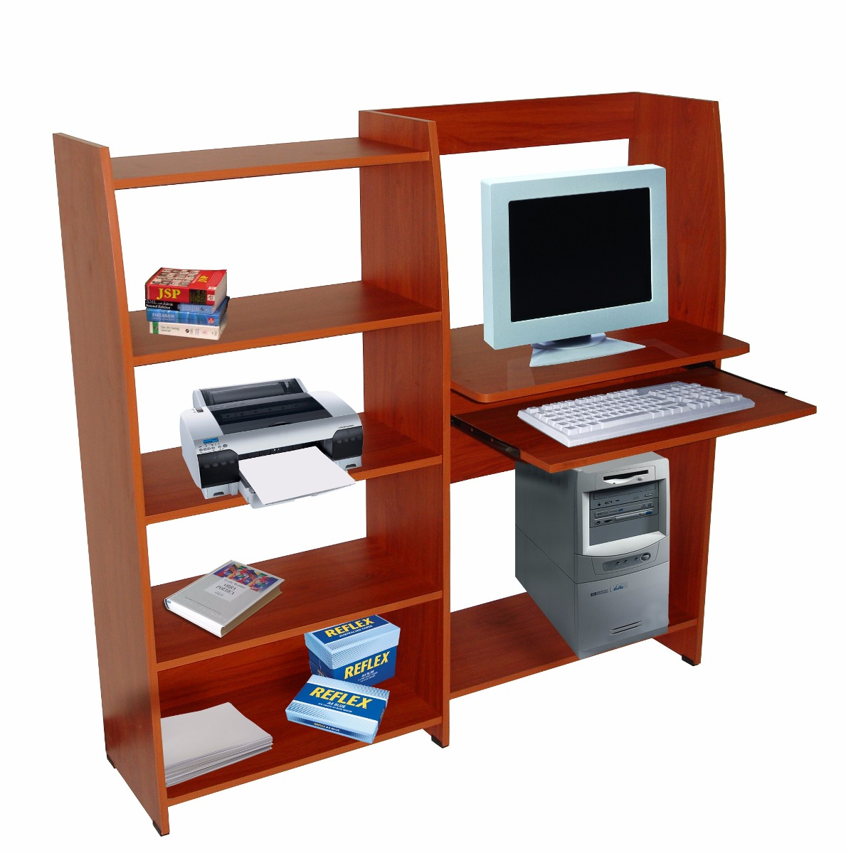 mueble para computadora madera excelente calidad bs 295