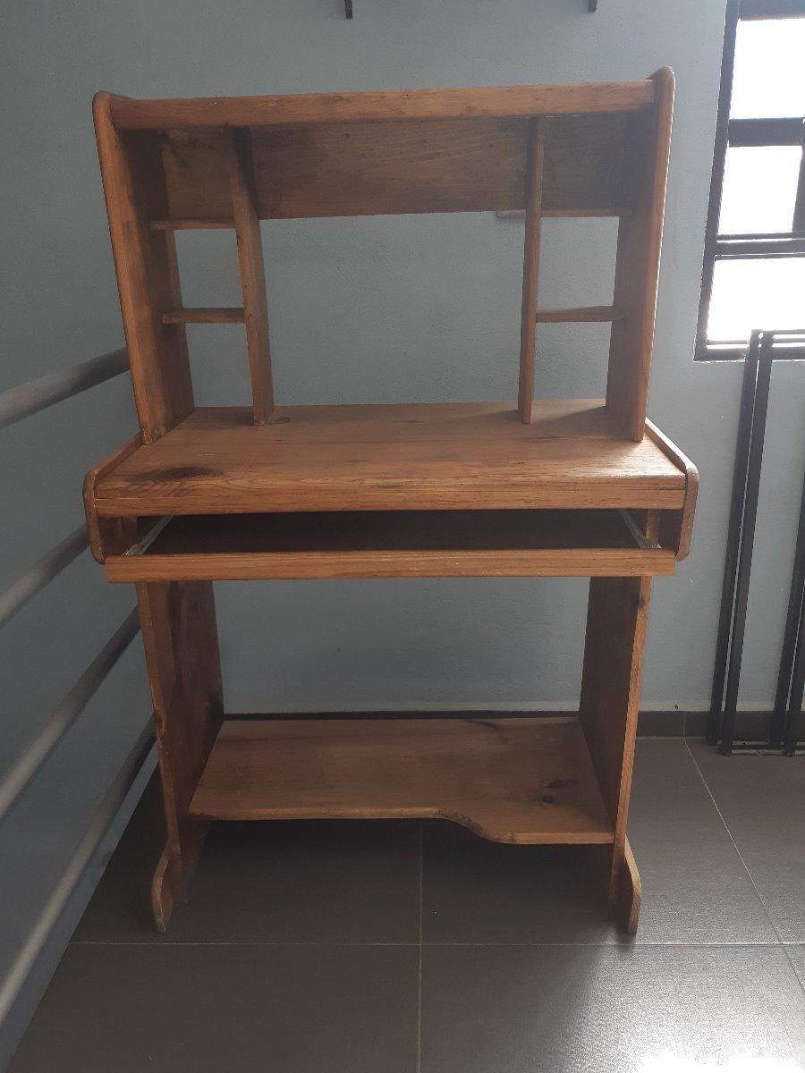 Muebles Para Computadora De Madera.Mueble Para Computadora Madera Rustica No Mdf Tulancingo 914 00