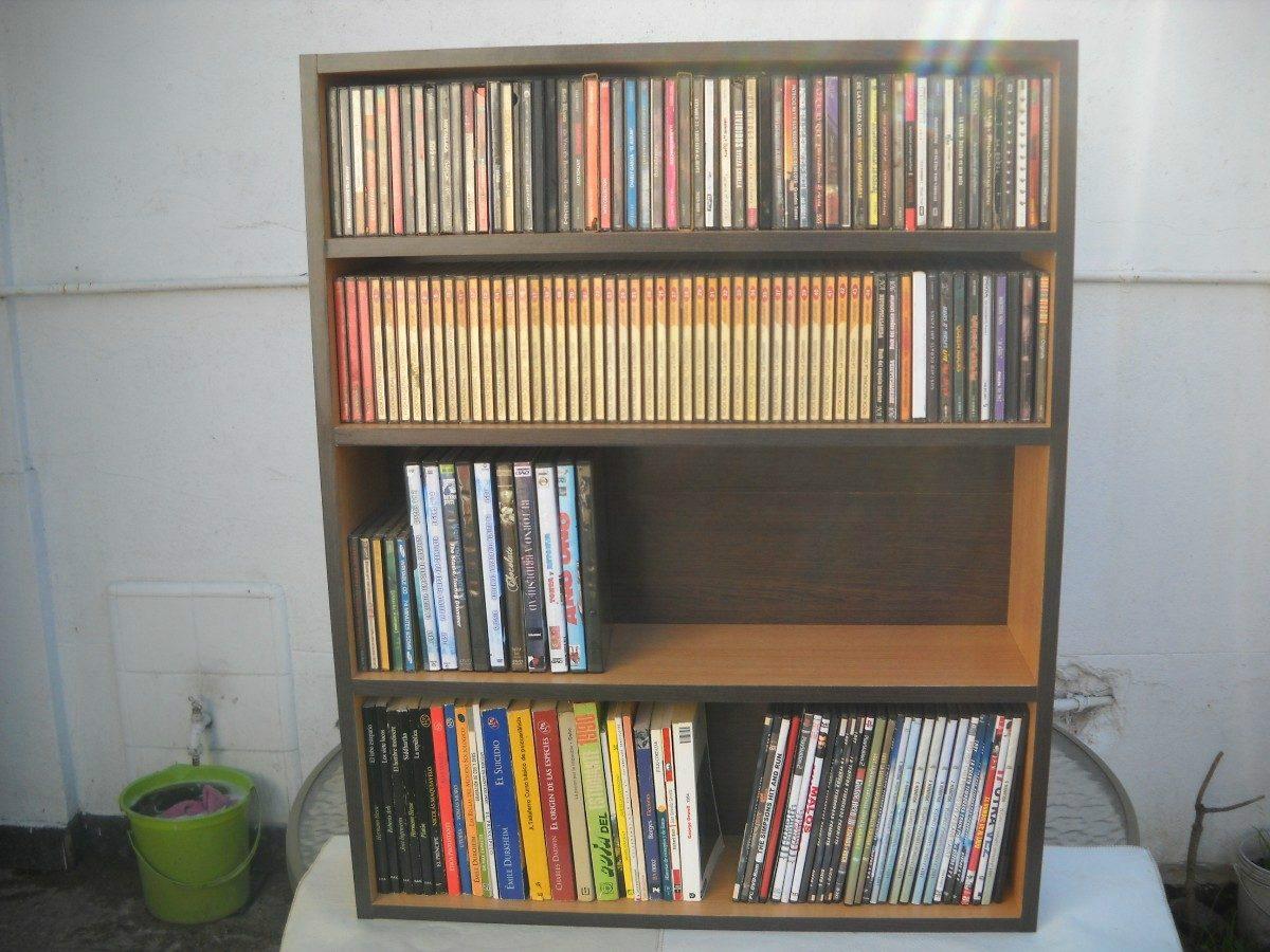 Mueble para dvd 39 s y cds de 4 pisos s 200 00 en mercado - Muebles para cd ...
