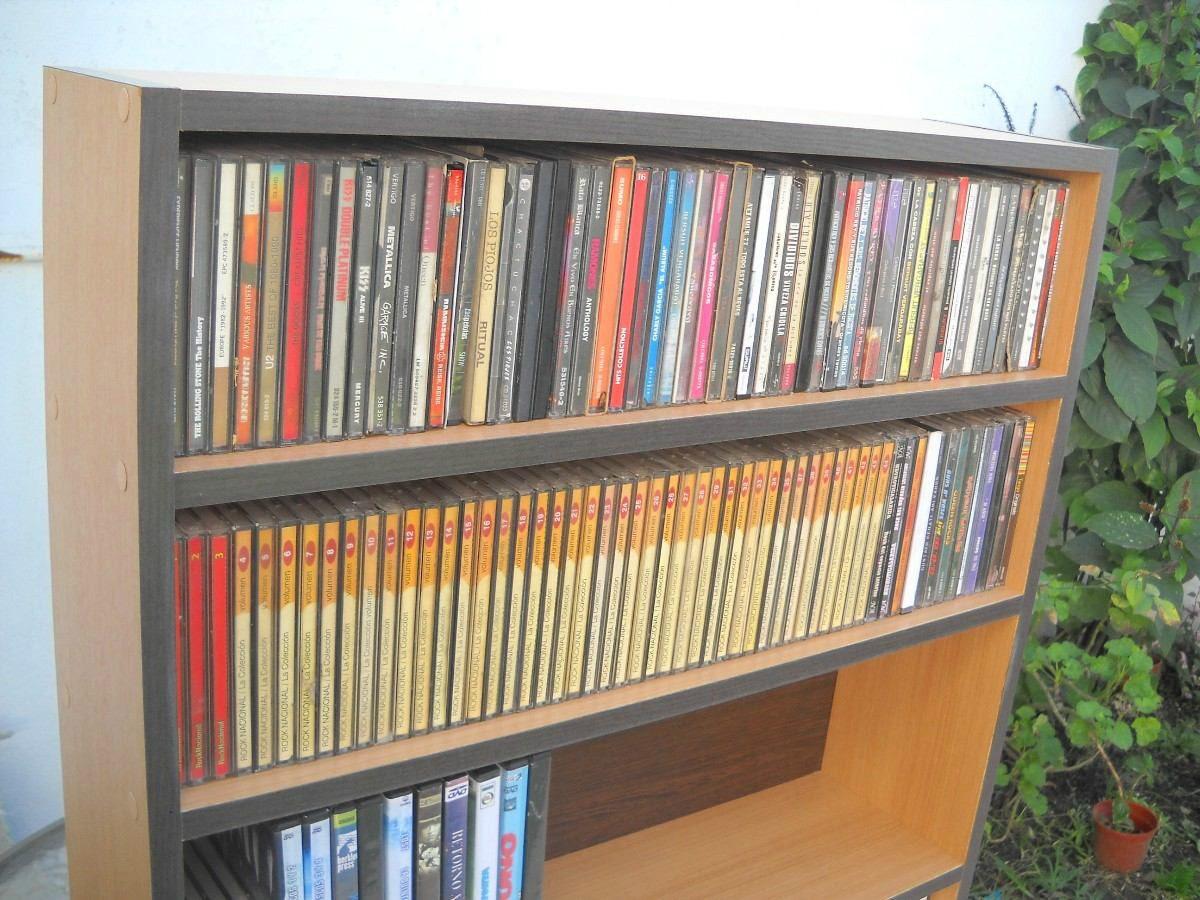 Mueble para dvd 39 s y cds de 4 pisos s 200 00 en mercado for Mueble para dvd