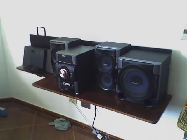 Mueble para equipo de sonido bs 1 30 en mercado libre for Muebles para televisor y equipo de sonido