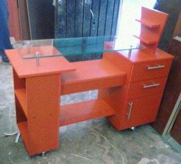 Mueble Para Estetica, Mesa De Uñas, Manicure - $ 2,200.00 ...