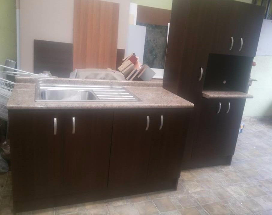 Mueble Para Fregadero Cocina + Alacena (fregadero Gratis)  ¢ 320,000